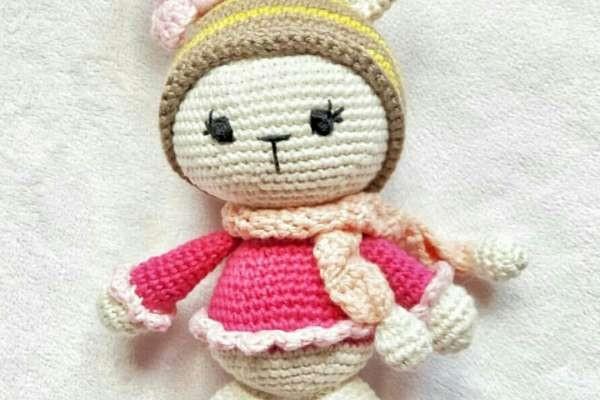 Amigurumi Minik Tavşancık Modeli Tarifi