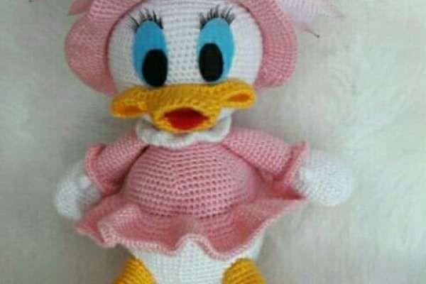Amigurumi Daisy Duck Modeli Tarifi