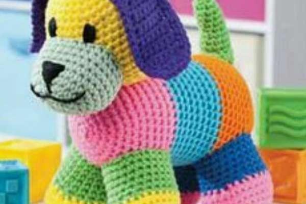 Amigurumi Renkli Köpek Modeli Tarifi